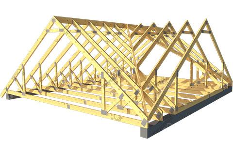 Многощипцовая стропильная крыша